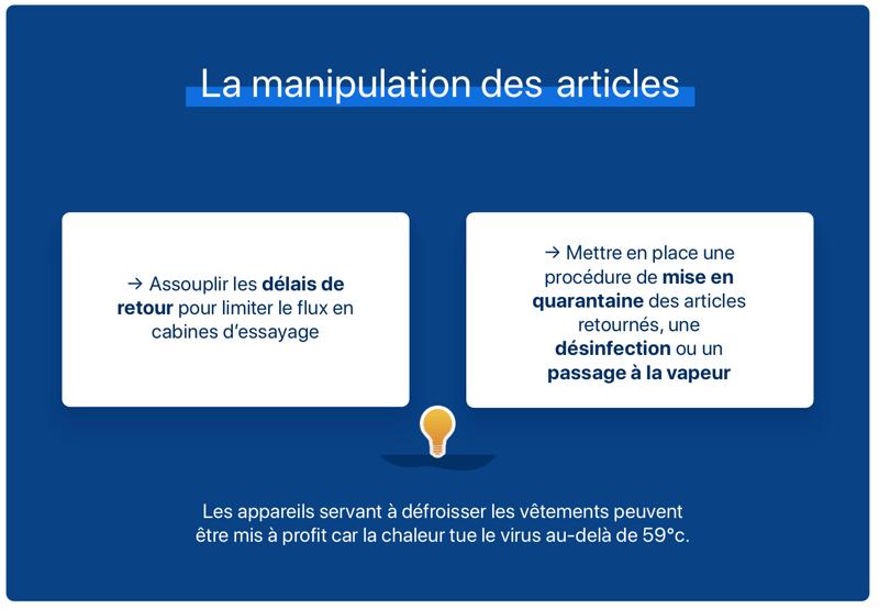 manipulation des articles